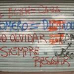 Buenos Aires political graffiti