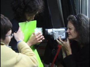Jeanne Finley in Sarajevo Media workshop