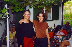 Jeanne Finley and Lynne Sachs in Sarajevo