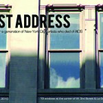 Last Address postcard