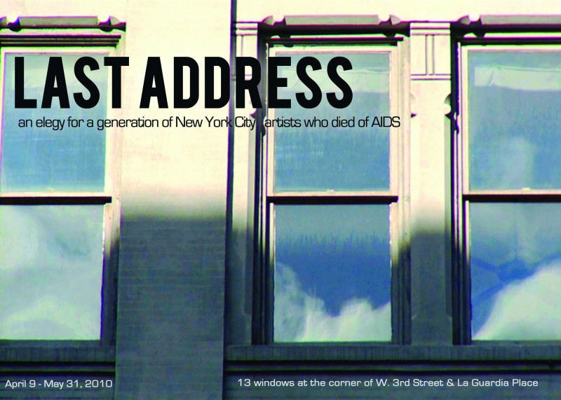 Last Address postcard