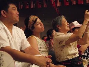 Yun Xiu Huang , Veraalba Santa and Sheut Hing Lee