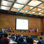Lynne gives Quito lecture