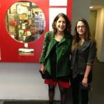 Lynne Sachs and Alex Cuesta at Anthology Film