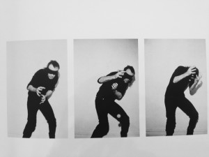 Vito Acconci Blindfolded Catching (1)