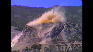 Quarry Explosion in Film About a Father Who