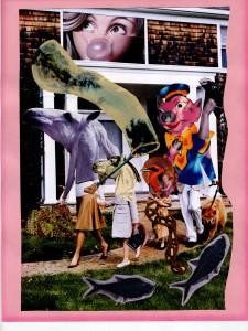 Street sachs family collage by bradley eros